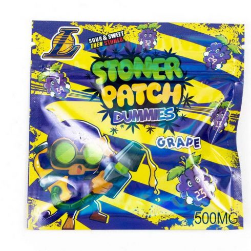 Stoner Patch Dummies Grap Flavor